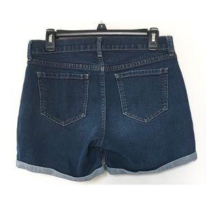 Old Navy Shorts - EUC Old Navy Sweetheart Dark Wash Denim Shorts
